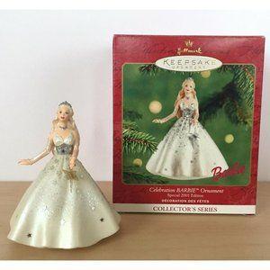 HALLMARK Keepsake Ornament Celebration Barbie
